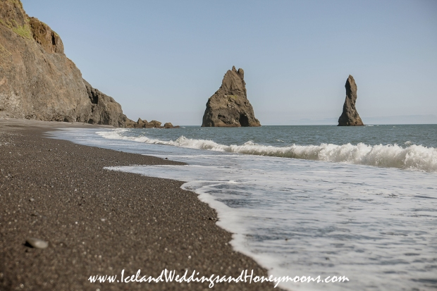 Iceland Weddings and Honeymoon Locations Black Sand Beach