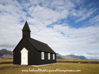 Iceland Weddings and Honeymoons at Hotel Budir Black Church