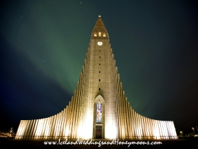 Iceland Weddings and Honeymoons Hallgrímskirkja Wedding Iceland